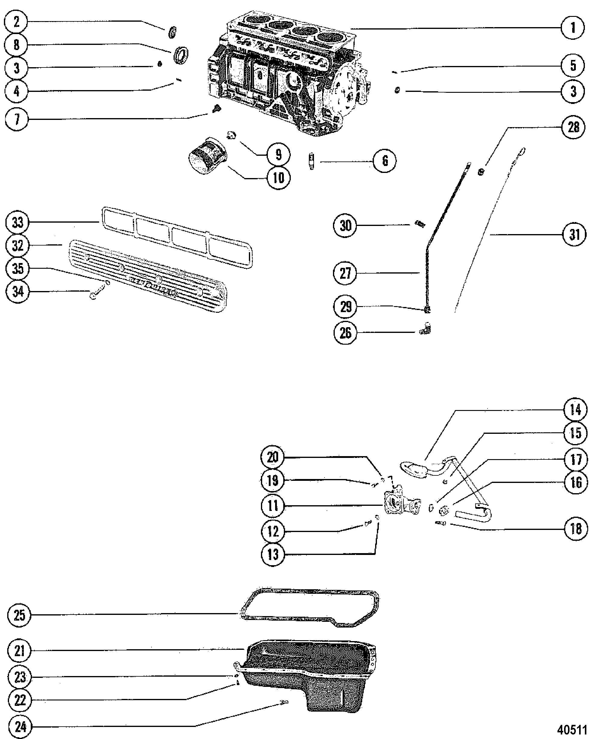 Mercruiser 470 2 Bbl