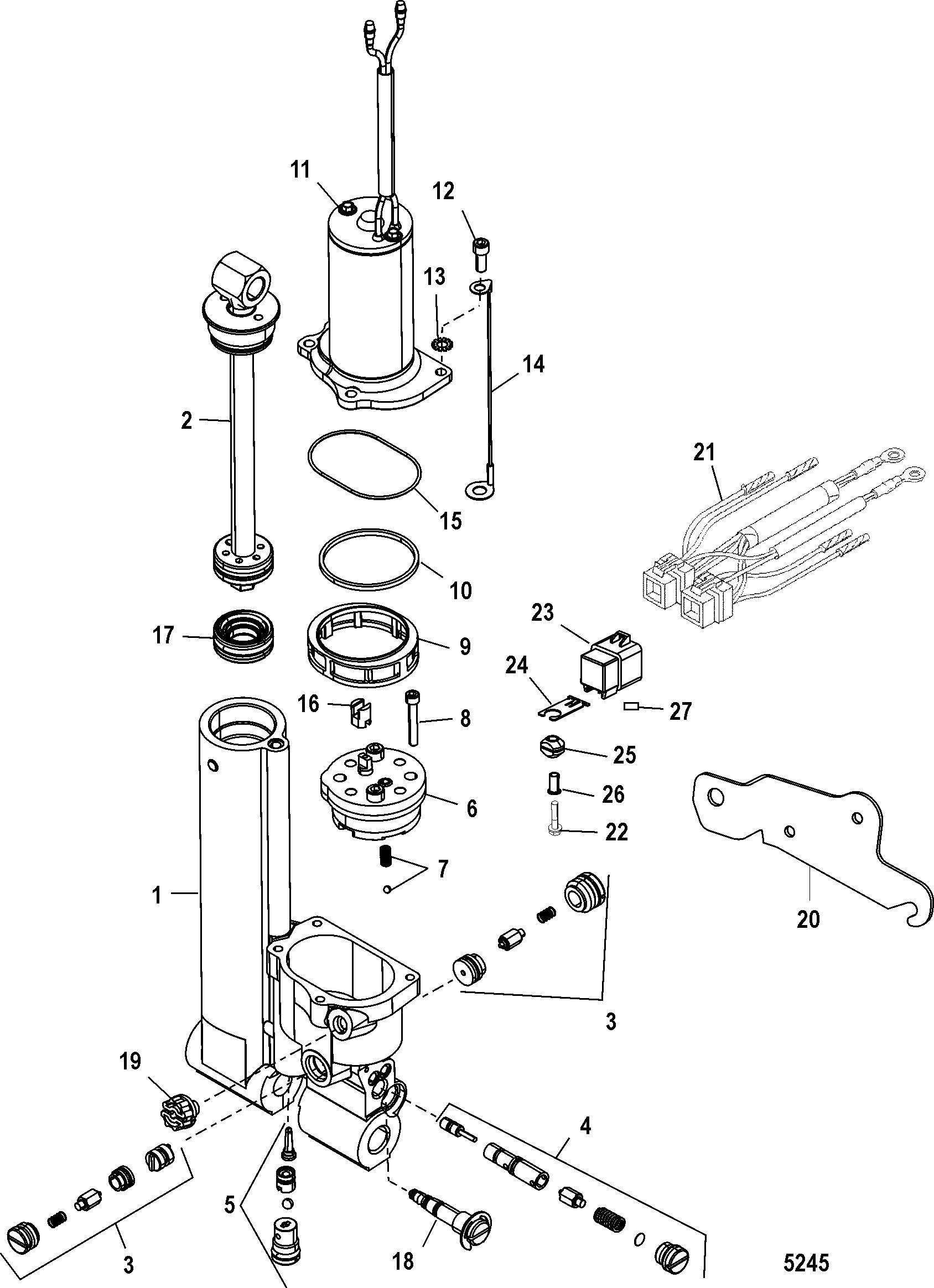 Mariner 40 2 Cyl 1b Amp Up