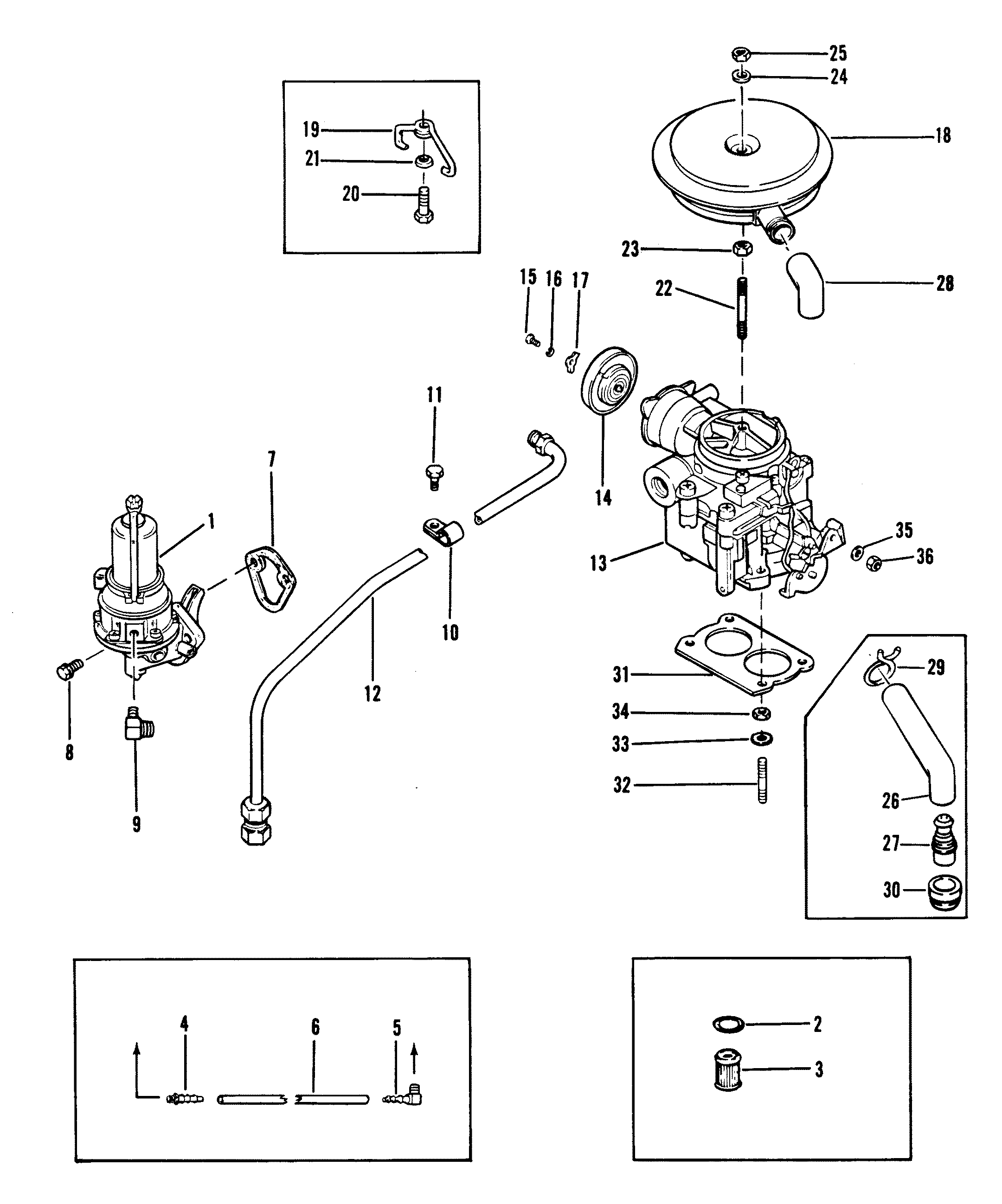 120 Hp Mercruiser Engine Diagram