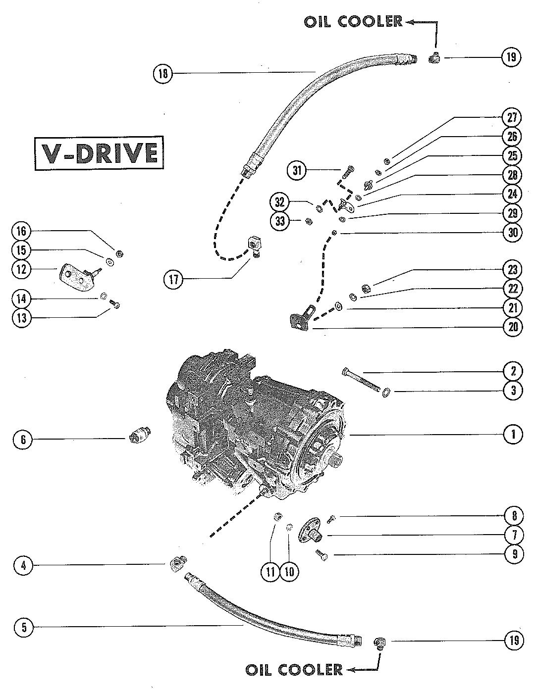 Mercruiser 233 Ford 351 V 8