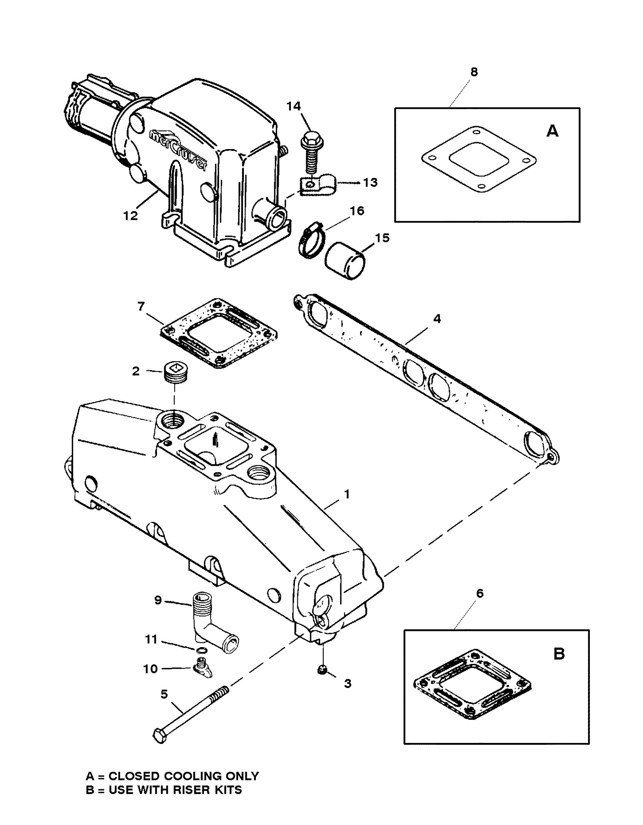 Mercruiser 5 7l Efi 2 Bbl