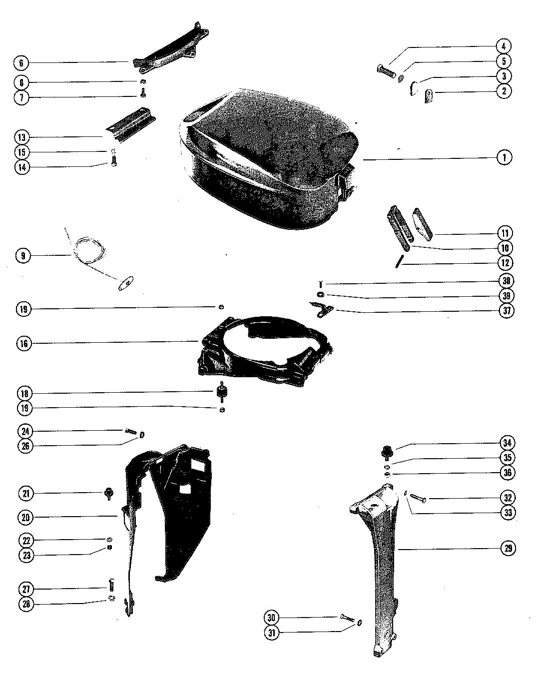 Mariner 90 6 Cyl Thru