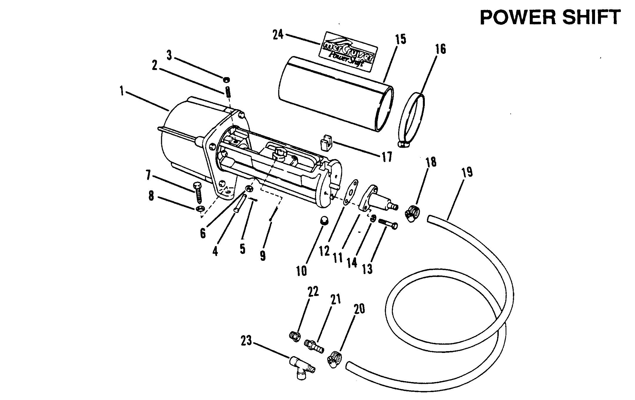 Accessories Power Steering Tiller