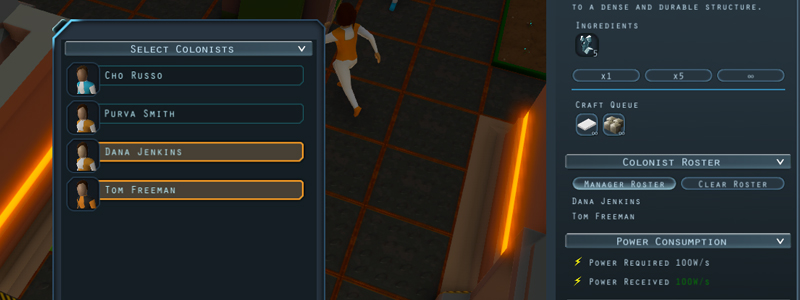 Devlog #32 :: Roster Management