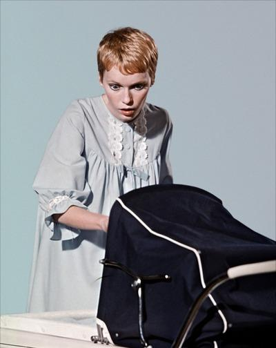 """Courtesy of Paramount PicturesMia Farrow plays the title character in 1968's """"Rosemary's Baby."""""""