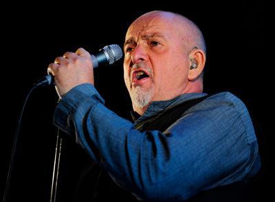 ASSOCIATED PRESS ARCHIVESinger-songwriter Peter Gabriel.