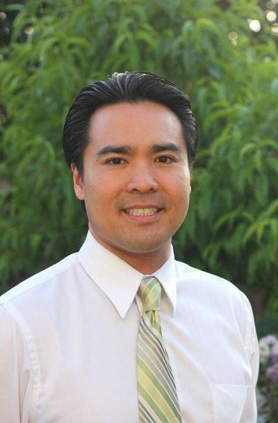 Photo of Jimmy Nguyen, taken in Evergreen, May 2012. Nguyen is a candidate for San Jose city council district 8.