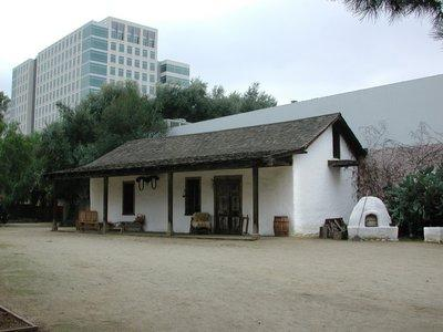 The Peralta Adobe, built in 1797, is the only remaining building from the original Pueblo that grew into San Jose.