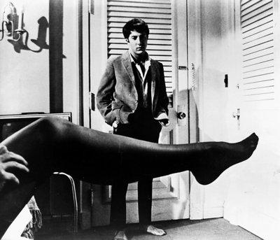 "Dustin Hoffman in ""The Graduate""."
