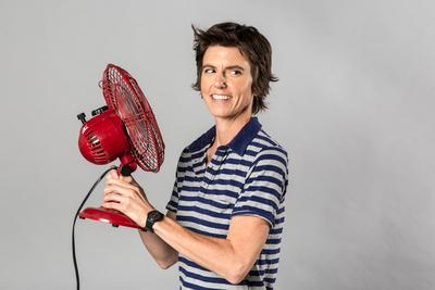 This 2012 photo released by The Daily shows comedian Tig Notaro. After starting her comedy routine with Good evening! Hello. I have cancer. How are you? , Notaro launched into a 30-minute performance that immediately became legendary in comedy circles and that's now available as an unlikely live album via a $5 digital release by comedian Louis C.K. In just a week, it's sold more than 60,000 copies. (AP Photo/Kate Lacey for The Daily)