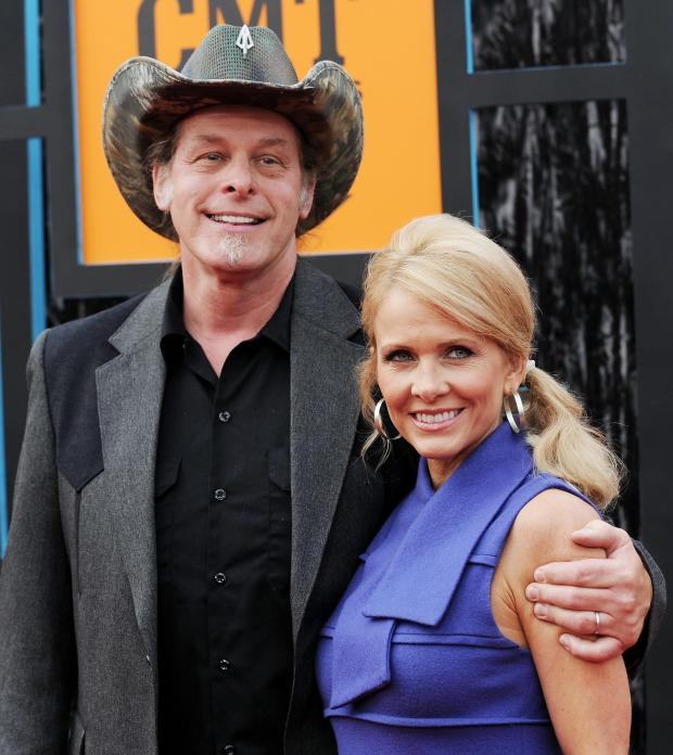 Ted Nugent and wife, Shemane Ann Nugent. (AP File photo)
