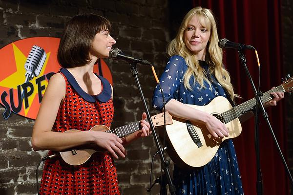 Riki Lindhome and Kate Micucci in 'Garfunkel and Oates.'