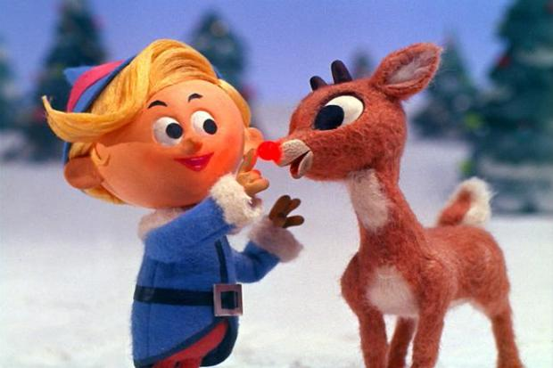 Hermey and Rudolph in 'Rudolph the Red-Nosed Reindeer.' (CBS/Classic Media)