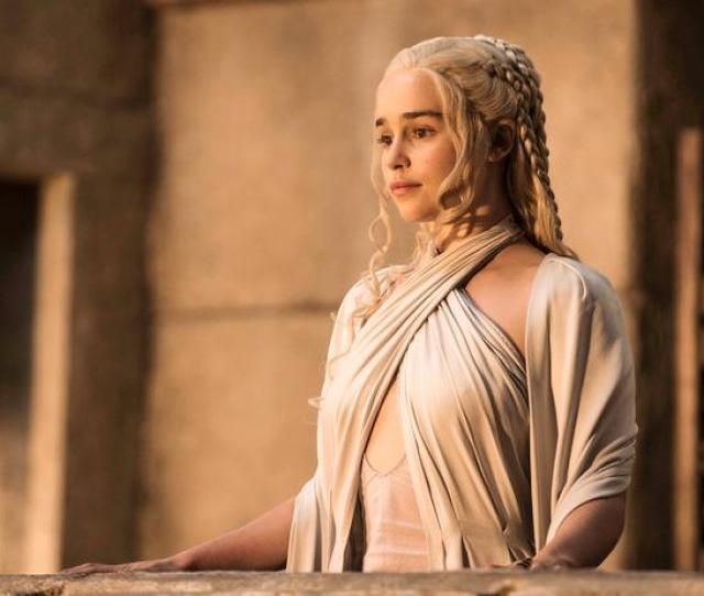 In This Image Released By Hbo Emilia Clarke As Daenerys Targaryen Appears In A Scene From Game Of Thrones Helen Sloane Hbo Via Ap