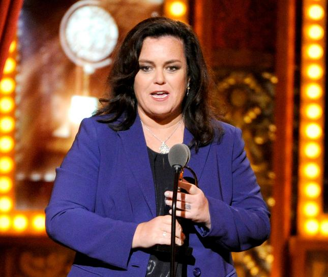 Rosie O'Donnell Gets a Steve Bannon Makeover - See the Pic!