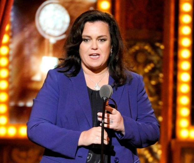 In this June 8, 2014 file photo, Rosie O'Donnell appears on stage at the 68th annual Tony Awards in New York. (Photo by Evan Agostini/Invision/AP, File)