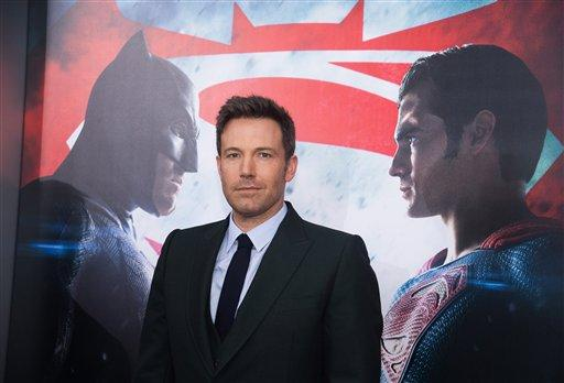 "Ben Affleck attends the premiere of ""Batman v Superman: Dawn of Justice"" at Radio City Music Hall on Sunday, March, 20, 2016, in New York."