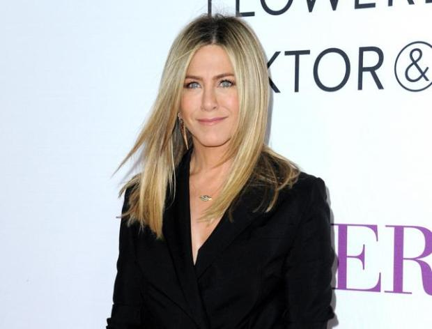 """Jennifer Aniston arrives at the Los Angeles premiere of """"Mother's Day"""" in April. (Photo by Richard Shotwell/Invision/AP, File)"""