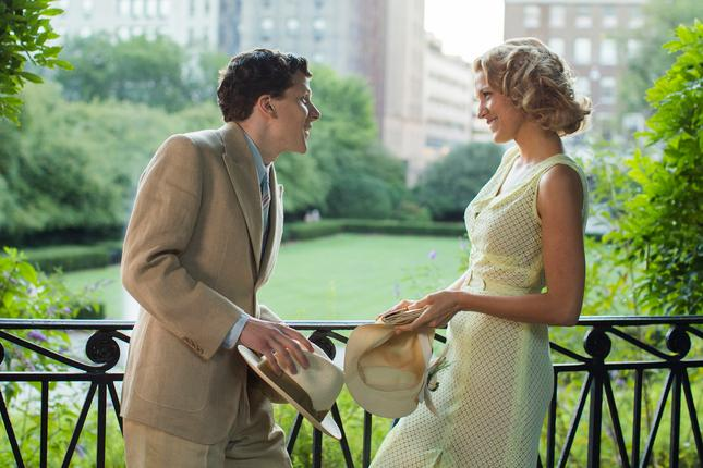 In this image released by Lionsgate Jesse Eisenberg left and Blake Lively appear in a scene from