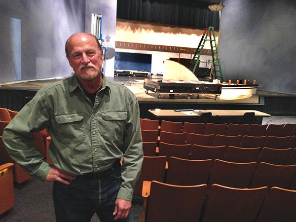 TheatreWorks Silicon Valley Artistic Director Robert Kelley is shown at the Mountain View Center for the Performing Arts on May 26, 2015. (John Orr / Daily News)
