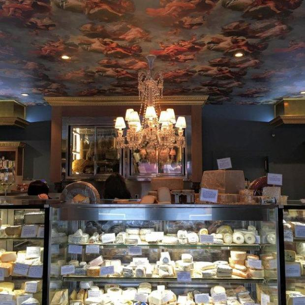 Stop by the Atelier by JCB, which is adjacent to Yountville's JCB Tasting Salon, to stock up on gourmet cheese, meat and other gastronomic provisions. (Photo: Mary Orlin/Staff)
