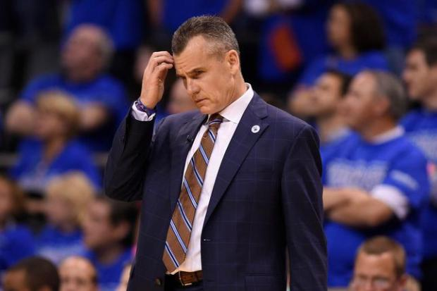 Oklahoma City Thunder head coach Billy Donovan reacts after the Golden State Warriors take the lead in the fourth quarter of Game 6 of the NBA Western Conference finals at Chesapeake Energy Arena in Oklahoma City, Okla., on Saturday, May 28, 2016. Golden State defeated Oklahoma City 108-101. (Jose Carlos Fajardo/Bay Area News Group)