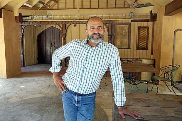 With recently issued building permits from the county, local hotelier Pravin Patel is moving forward with phase 1 of his restoration of the historic Brookdale Lodge. (Dan Coyro / Santa Cruz Sentinel)