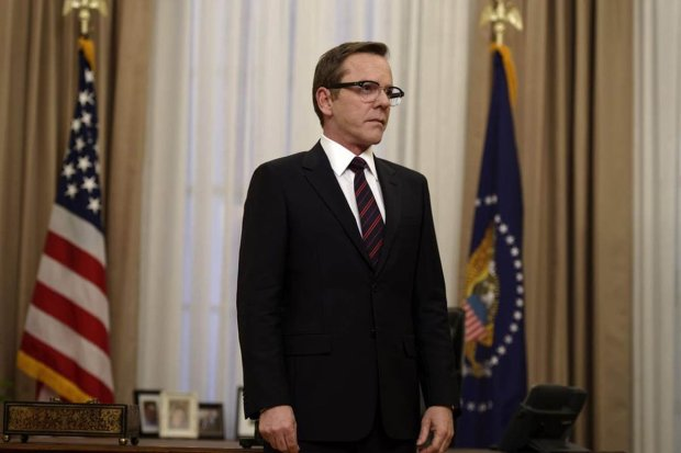 Kiefer Sutherland stars as Tom Kirkman in 'Designated Survivor.'