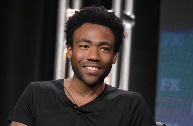 "Donald Glover participates in the ""Atlanta"" panel during the FX Television Critics Association summer press tour on Tuesday, Aug. 9, 2016, in Beverly Hills, Calif. (Photo by Richard Shotwell/Invision/AP)"