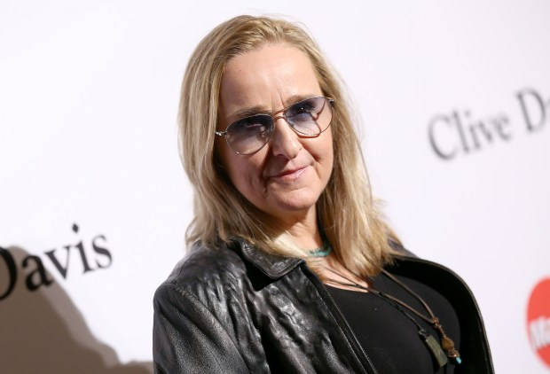 Melissa Etheridge arrives at the 2016 Clive Davis Pre-Grammy Gala at the Beverly Hilton Hotel on Sunday, Feb. 14, 2016, in Beverly Hills, Calif. (Photo by John Salangsang/Invision/AP)