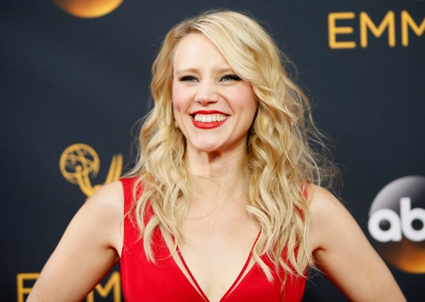 Kate McKinnon arrives at the 68th Primetime Emmy Awards on Sunday, Sept. 18, 2016, at the Microsoft Theater in Los Angeles. (Photo by Danny Moloshok/Invision for the Television Academy/AP Images)