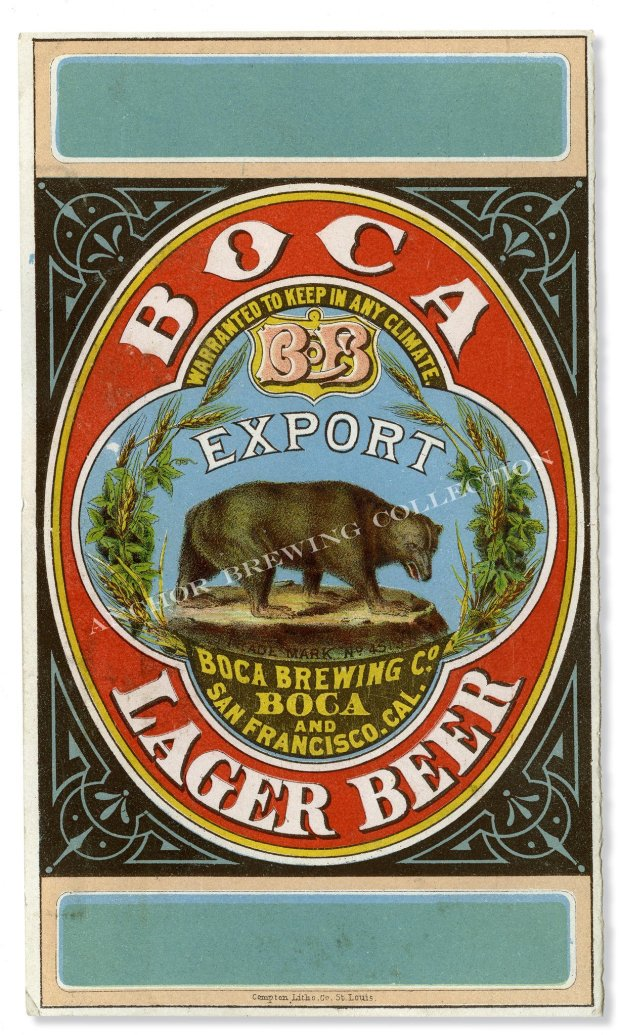 Lake Tahoe's Boca Brewing brewed the state's first lager in the 19th century. Today, that legacy lives on, thanks to Anchor Brewing. (Anchor Brewing Collection)