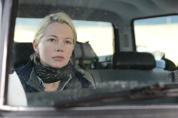 "CORRECTS ID TO MICHELLE WILLIAMS - This image released by IFC Films shows Michelle Williams in a scene from ""Certain Women."" (Nicole Rivelli/IFC Films via AP)"