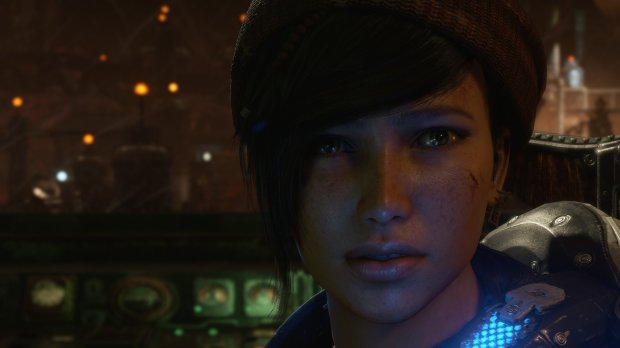 "Kait is one of the new characters in ""Gears of War 4."""