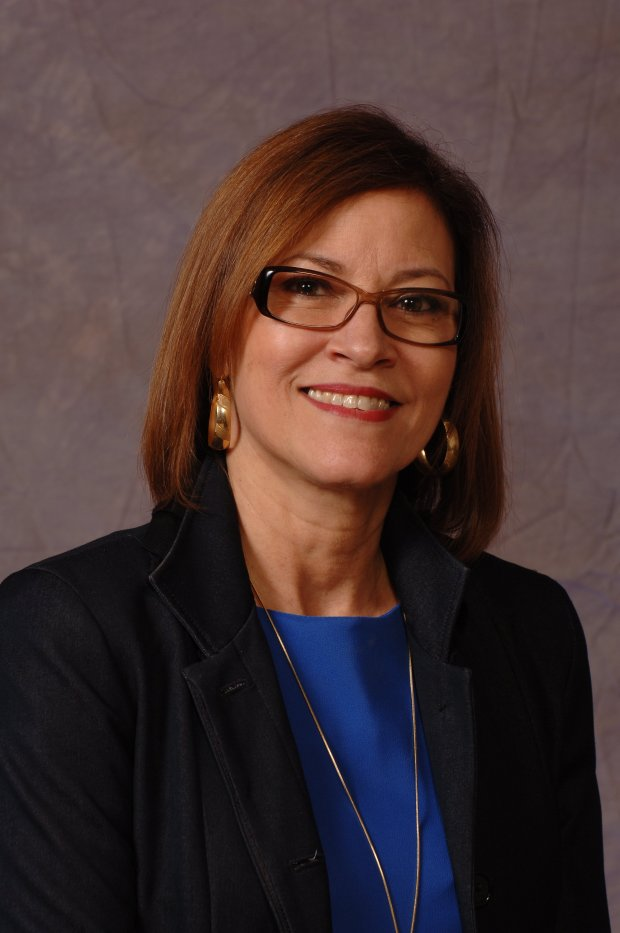 Mayra Cruz, 58. is running for re-election to the San Jose-Evergreen Community College District board, Trustee Area 7.