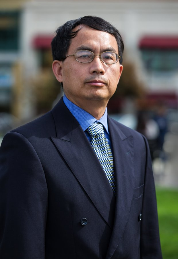 Tony Qin, 51, is a candidate for the Evergreen School District board of trustees.