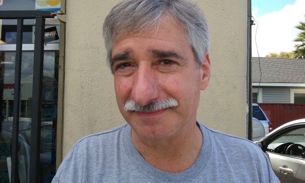 Mark Lemucchi, 62, is running for school board in the Luther Burbank School District in San Jose.