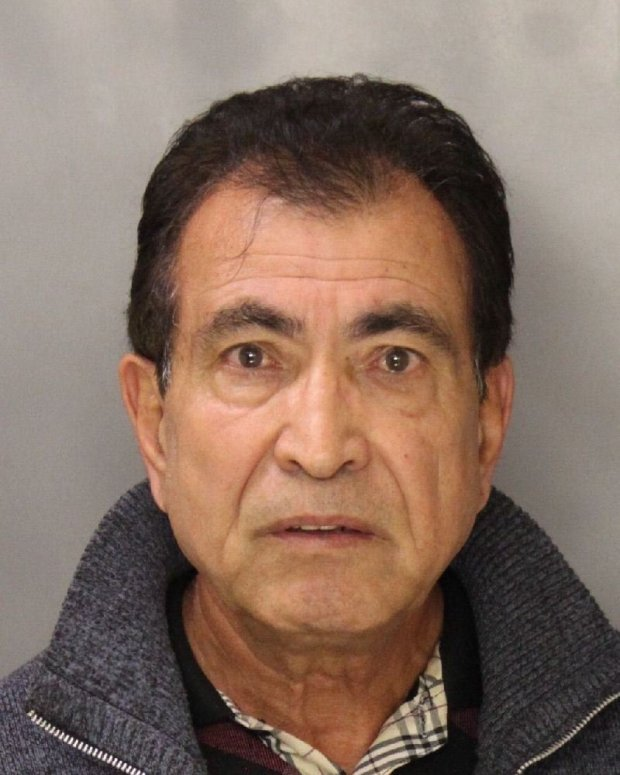 Ghulam Mohammadi, 62, was arrested Oct. 13, 2016 in Mountain View after allegedly backing into a parking-enforcement vehicle during a confrontation over a ticket.
