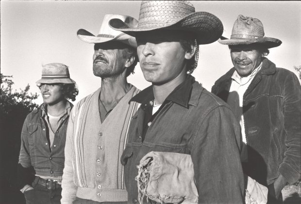 "Danny Lyon's ""Maricopa County, Arizona,"" 1977, is part of the exhibition ""Danny Lyon: Announcing the Future. (© Danny Lyon, courtesy Edwynn Houk Gallery, New York)"