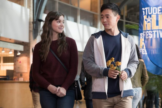 Hailee Steinfeld stars as Nadine and Hayden Szeto as Erwin in 'The Edge of Seventeen.' (STX Entertainment)