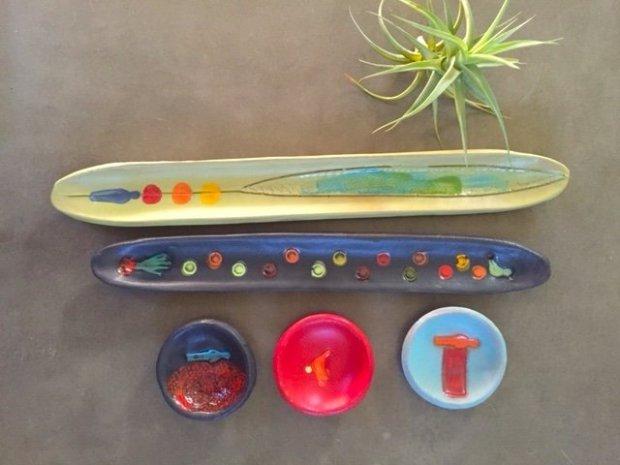 San Francisco ceramics artist Lisa Neimeth's pottery features colorful, whimsical designs. Photo credit: Courtesy of Lisa Neimeth Ceramics