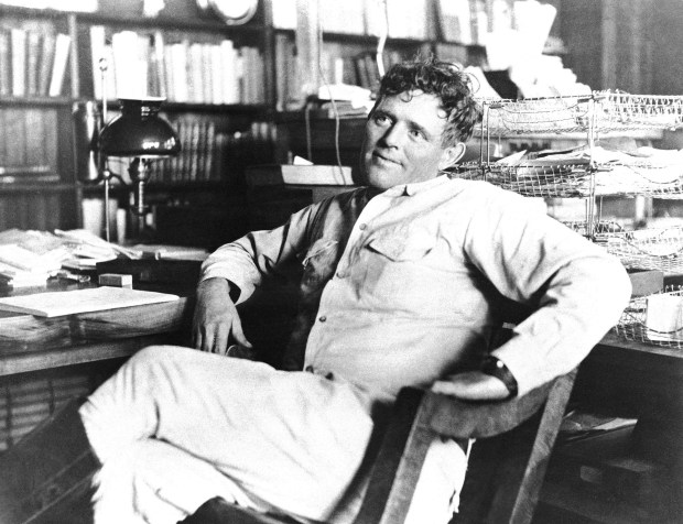 Jack London photographed in 1916, shortly before his death. The most highly-paid and most widely read writer of his time, Jack London is still the most widely translated American writer. (AP Photo)
