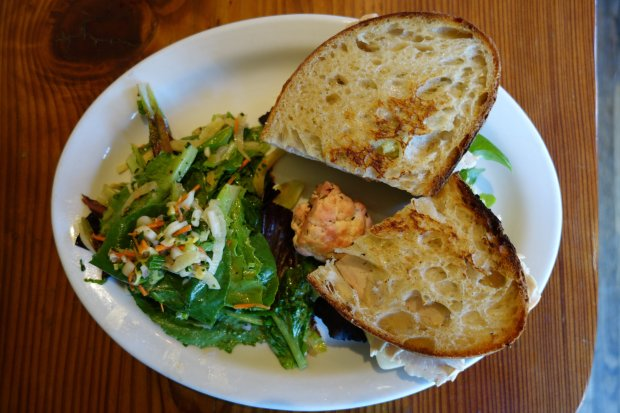 Follow up a brisk Big Sur hike with a stop at the beloved Big Sur Bakery, where the sandwiches are made with housemade sourdough. (Photo: Tom Bentley)