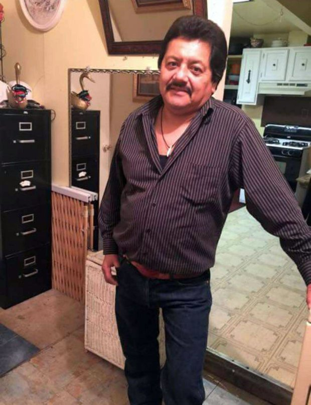 Leonardo Jeronimo, 49, of Alviso, was killed on Friday, Nov. 11, 2016, when a Dodge Durango crashed into Alliance Credit Union at 265 Curtner Ave., where Jeronimo was working as a painter. The credit union has established a donation fund to help provide financial support for Jeronimo's family. (Courtesy of Alliance Credit Union)