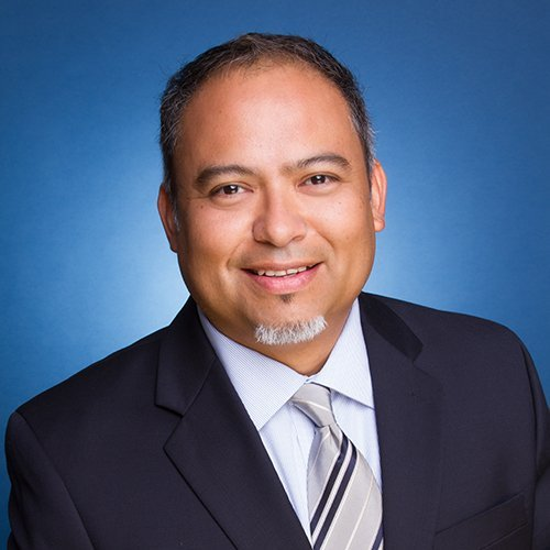 Jose Gutierrez, 46, is running for re-election to the Mountain View Whisman School District board of trustees.