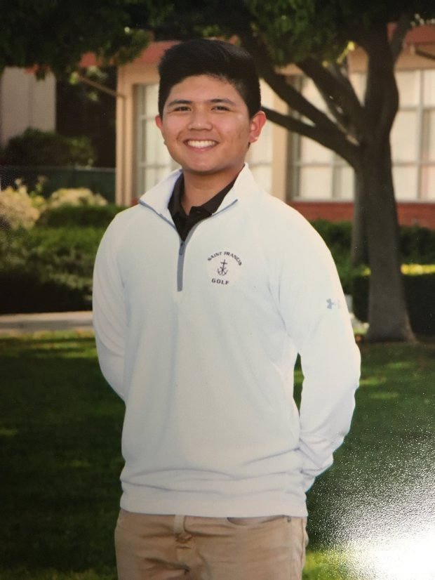 Justin Quintos, 16, of Cupertino, died Friday, Nov. 11 in a car crash on Highway 9 in Saratoga. (Courtesy of Rodel Quintos)