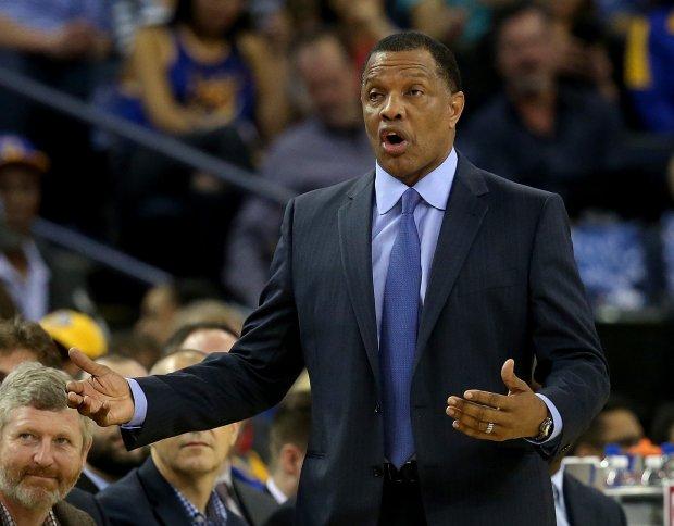 New Orleans Pelicans head coach Alvin Gentry has enjoyed bantering with Warriors coach Steve Kerr. (Jane Tyska/Bay Area News Group)