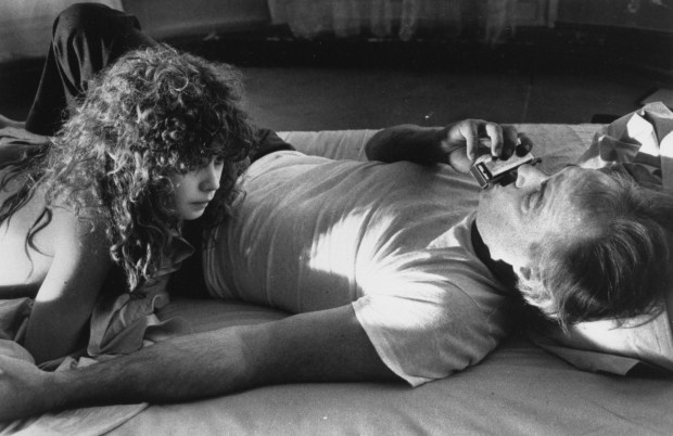 Marlon Brando, right, and Maria Schneider are seen in a scene from the film The Last Tango In Paris. Brando died at an undisclosed Los Angeles hospital Thursday, attorney David J. Seeley said Friday, June 2, 2004. (AP Photo/United Artists)