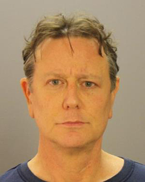 DALLAS, TX - DECEMBER 08: (EDITORS NOTE: Best quality available) In this handout photos provided by the Dallas County Jail, actor Judge Reinhold is seen in a police booking photo after his arrest at Dallas Love Field airport December 8, 2016 in Dallas, Texas. Reinhold was charged with disorderly conduct after refusing to submit to a security check. (Photo by Dallas County Jail via Getty Images)