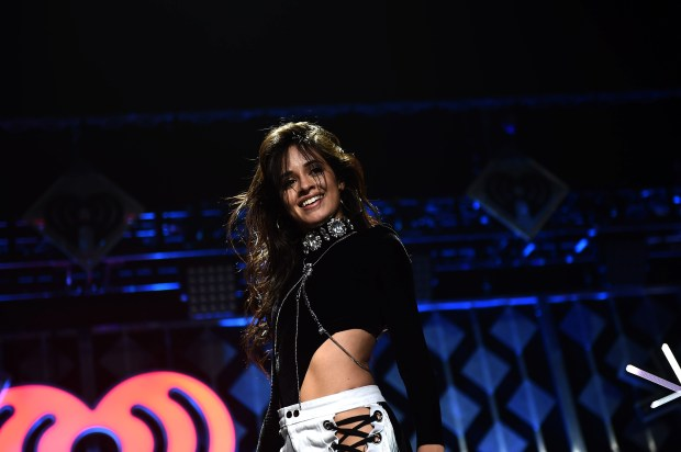 ATLANTA, GA - DECEMBER 16: Camila Cabello of Fifth Harmony performs onstage during Power 96.1's Jingle Ball 2016 at Philips Arena on December 16, 2016 in Atlanta, Georgia. (Photo by Marcus Ingram/Getty Images for iHeart)